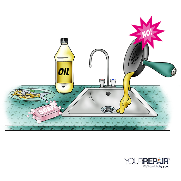 Kitchen Oil In Home Appliance